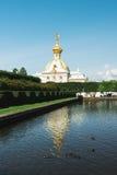 Peterhof, St Petersburg, Russie - 27 juillet 2017 photographie stock libre de droits