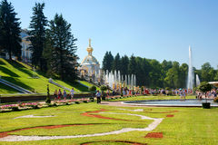 Peterhof. The Suburb Of St. Petersburg. Stock Images