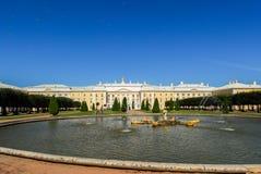 Peterhoff Palace - Saint Petersburg, Russia Stock Photo