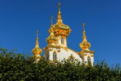 Peterhoff Palace - Saint Petersburg, Russia Stock Photography
