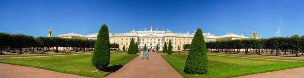 Peterhoff-Palast - St Petersburg, Russland Stockfotos