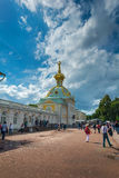 Peters Palace at Peterhof, St Petersburg, Russia. Royalty Free Stock Photos