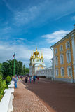 Peters Palace at Peterhof, St Petersburg, Russia. Royalty Free Stock Photo