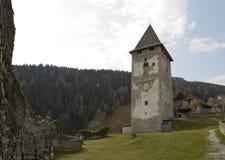 Petersberg Castle of Friesach Stock Photos
