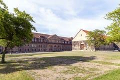 Petersberg citadell i Erfurt Arkivfoton