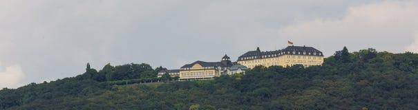Petersberg hotellkoenigswinter Tyskland royaltyfria bilder
