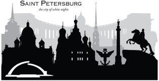 petersburg bridżowy okhtinsky święty Russia ilustracji
