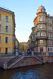 Petersburg Canals Royalty Free Stock Images