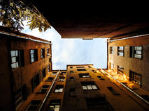 Petersburg courtyard Stock Photography