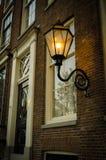 petersburg för lampa för kustaftonfinland golf st Royaltyfria Foton