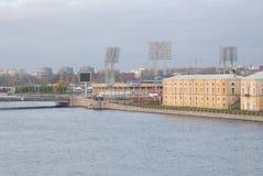 Petersburg krajobraz Obrazy Royalty Free