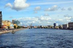 Petersburg, miasto widoki Fotografia Royalty Free