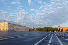Petersburg. Palace Square. Stock Images
