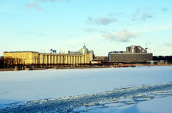 Petersburg, pejzaż miejski Fotografia Royalty Free