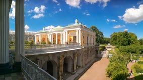 Petersburg Rosja, Czerwiec, - 29, 2017: Agatów pokoje na rampie Cameron galeria Tsarskoe Selo Obrazy Royalty Free
