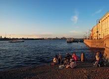 Petersburg, Rosja, Peter i Paul forteca, zdjęcie royalty free