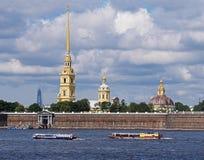 15 06 2017 Petersburg Rosja widok St Petersburg Obraz Stock