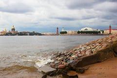 Petersburg Rosja wyspa vasilievsky Obraz Stock