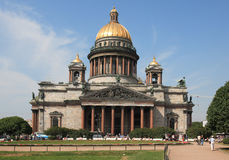 petersburg Rosji st. Zdjęcie Royalty Free