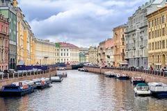 petersburg Rosji st Fotografia Stock