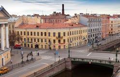 petersburg Rosji st Griboyedov kanału bulwar Obrazy Stock