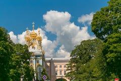 Petersburg, Rusland - Juni 29, 2017: Het Paleis van Katherine ` s in Tsarskoe Selo Pushkin Stock Afbeelding