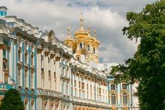 Petersburg, Rusland - Juni 29, 2017: Het Paleis van Katherine ` s in Tsarskoe Selo Pushkin Stock Fotografie
