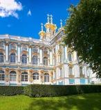 Petersburg, Rusland - Juni 29, 2017: Het Paleis van Katherine ` s in Tsarskoe Selo Pushkin Royalty-vrije Stock Foto