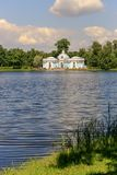 Petersburg, Russia - June 29, 2017: Tsarskoye Selo. The Hermitage pavilion in the Catherine Park. Royalty Free Stock Photo