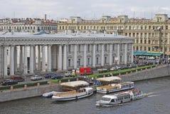 petersburg russia saint Royaltyfria Foton