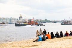 petersburg russia saint Royaltyfri Bild