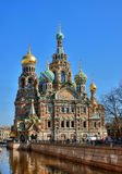 petersburg russia saint temple Στοκ Φωτογραφία