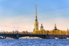petersburg russia st fotografering för bildbyråer