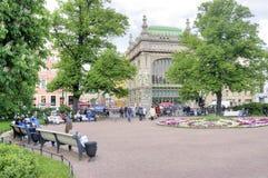 petersburg saint Catherine Square Royaltyfri Bild