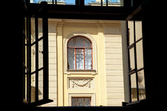 Petersburg window Royalty Free Stock Image