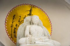 Petersburgh, NY Buddha, Grafton pokoju pagoda - Fotografia Royalty Free