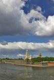 Petersburgu fortecy święty Zdjęcie Royalty Free