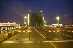 Petersburgu mostu święty Obraz Royalty Free