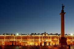 Petersburgu pałacu st Rosji zima Obraz Royalty Free