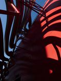 Petersen Automotive Museum facade on the August 12th, 2017 - Los Angeles, CA royalty free stock photography