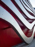 Petersen Automotive Museum facade on the August 12th, 2017 - Los Angeles, CA royalty free stock photos