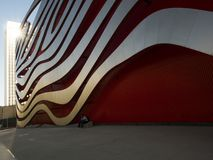 Free Petersen Automotive Museum Facade On The August 12th, 2017 - Los Angeles, CA Royalty Free Stock Image - 104505766