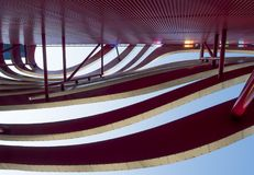 Free Petersen Automotive Museum Facade On The August 12th, 2017 - Los Angeles, CA Royalty Free Stock Images - 104506009