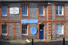 The old police station and museum petersfield hampshire uk royalty free stock photography