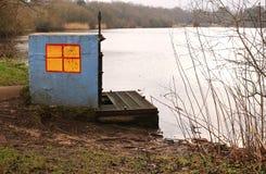 Petersfield sjö royaltyfri fotografi