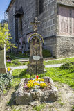 Petersfriedhof Cemetery and catacombs at St Peters Abbey catholi Royalty Free Stock Photos