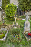 Petersfriedhof Cemetery and catacombs at St Peters Abbey catholi Royalty Free Stock Image