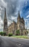 Peterskirche Leipzig Imagenes de archivo