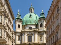 Peterskirche (Saint Peter Church) In Vienna Royalty Free Stock Images