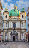 Peterskirche (St. Peters Church) In Vienna, Austria, Europe Stock Image